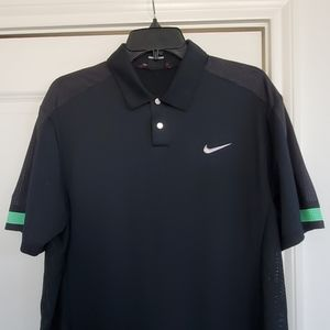 Nike dri fit tiger woods collection golf polo M